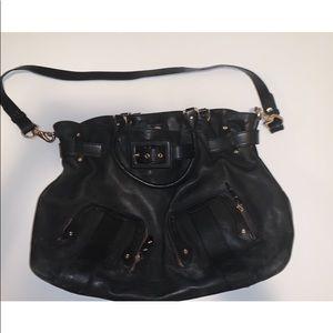 Cole Haan Oversized Black Handbag